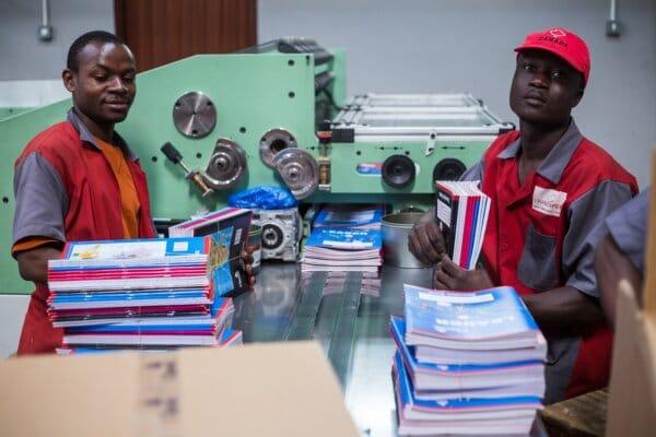 Transpaper factory, in Kampala, Uganda